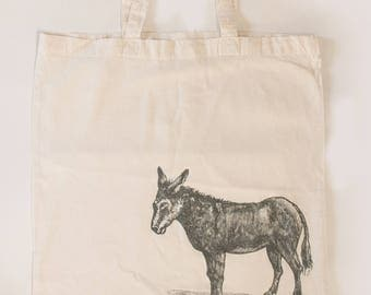 "Carry bag ""Donkey"" (100% cotton)"