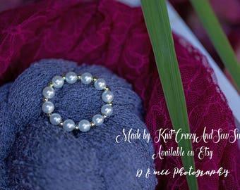 Faux pearl Newborn Baby Bracelet