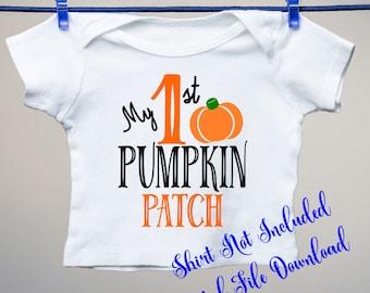 First Pumpkin Patch svg, Halloween SVG, Pumpkin svg, First, Pumpkin patch, SVG, patch svg, cut files, svg files, svg designs, pumpkin