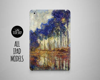 Claude Monet iPad Air Case iPad Mini Case iPad Case Impressionist iPad Air 2 Case iPad 4 Case iPad 3 iPad Mini 4 Case Tablet Case iPad Cover