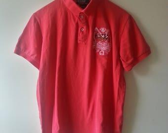 Vintage Polo Ralph Lauren international challenge cup polo shirt Size Small Rare