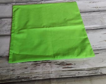 100% Cotton Cushion Covers - Green Apple Blank