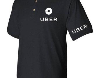 Uber drivers men's polo shirt