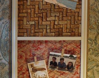 Vintage Letterpress Drawer Message Center #34 - Wedding gift, Housewarming gift, Vintage Decor, Cottage Decor, Rustic Decor, Farmhouse Decor