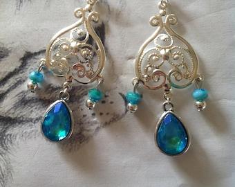 """Earrings """"Sea Heart"""""""