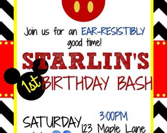 Oh Toodles! Birthday Invitation