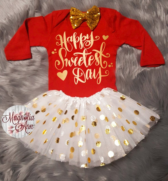 ... Happy Sweetest Day Valentines Outfit, Toddler Valentines Day Outfit, Baby  Girl Valentines Outfit,
