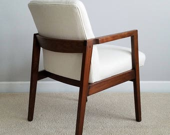 Vintage Club Chair, Mid-Century Chair, Restored Vintage Chair