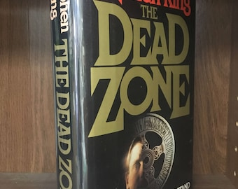 SIGNED by Stephen King: Dead Zone. Hardcover in dust jacket by the master of horror. Authentic handwritten inscription from 1982 Great gift!