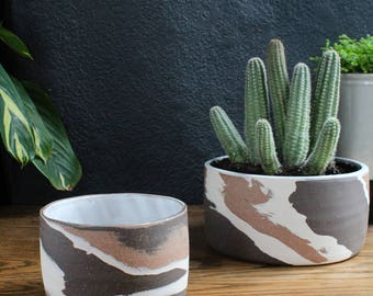 Marbled Clay Planter