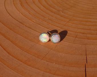 5mm opal studs