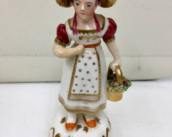 Antique Early English Porcelain Figurine circa 1820