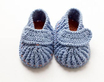 Blue Baby mocassins Baby reveal box Baby moccasins Baby uggs Baby moccs Loafer booties Baby loafer shoes Baby sandals Cute baby clothes