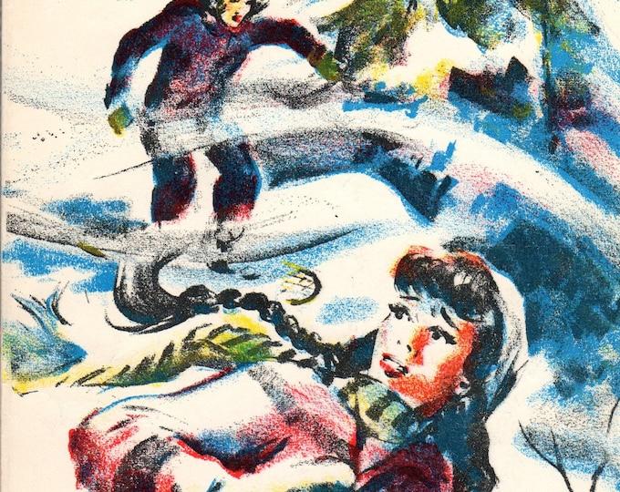 Snowbound in Hidden Valley by Holly Wilson SC Book 1964 Scholastic