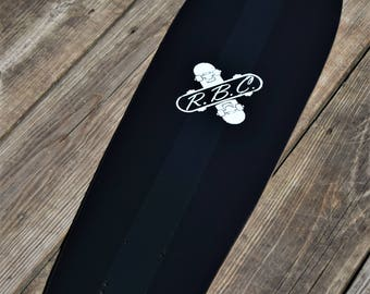 Custom Revert Boards Blackout Longboard/Skateboard Backpack Cruiser/Penny Deck