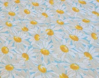 Daisy Flower Cotton Fabric