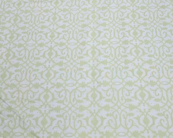 Christmas Pure and Simple-Green Cotton Fabric from Benartex