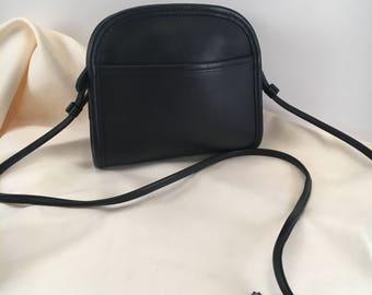 Coach Bag / Vintage Coach Bag / Coach Purse / Black  Leather Abbie Crossbody  Bag /  Handbag / Purse / Style  9017 / EUC to Mint Condition