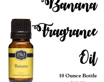 Banana Fragrance Oil Bottle 10 ml
