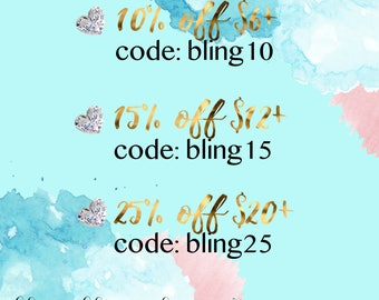 bling bling planner coupon codes