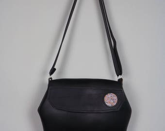 PIEL DE RUEDA - Recycled inner tube woman bag