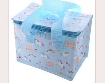 Unicorn Lunch Box Cool Bag