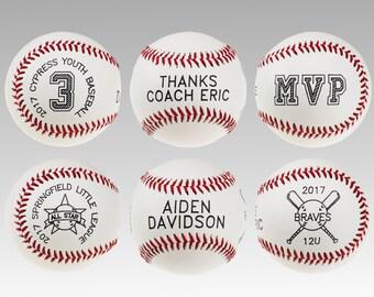 Custom baseballs - For any occasion - Player Awards - Wedding - Birthday - Employee Appreciation