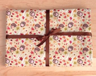 Fleece baby blanket, baby shower or new baby gift, stroller blanket, autumn baby gift