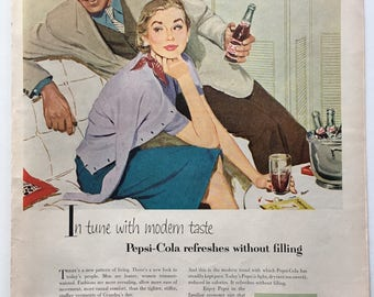 1953 Pepsi Ad from LIFE magazine