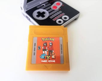 Pokemon Bronze Gameboy Color (GBC, GBA) Custom English Translation Game Boy (Fan Made) Saves!