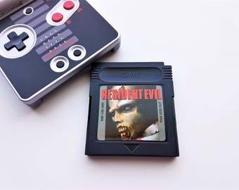 Resident Evil Gameboy Color - Custom Fan Made - Unreleased Nintendo Game GBC (US SELLER) Survival Horror