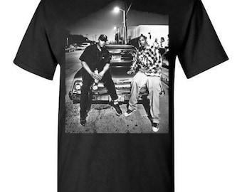 Snoop Dogg & Dr Dre , Hip Hop Gangsta Rap G-Funk ,v7, shirt Tee T-shirt  S - 5XL