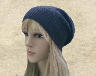 Black knit hats, Knitted hats beanies, Slouchy beanie hat, Knit women's beanie, Knit hats women, Boho beanie hat, Slouch knitted hats