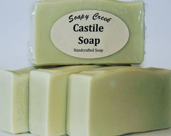 Castile Soap, Olive Oil Soap, Natural Soap, Handmade Soap, Cold Process Soap, Artisan Soap, Handcrafted Soap, Homemade Soap, Bar Soap, Soap