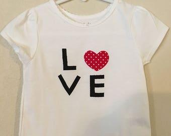 Toddler Love Shirt