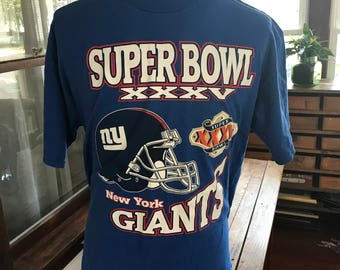 NY Giants NFL Super Bowl T Shirt