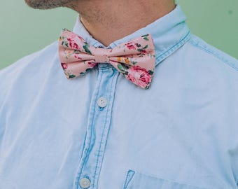 Floral Bow ties, 8 patterns available