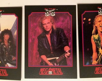 U.F.O- Scorpions-MSG-Michael Schenker Trading Cards 1991