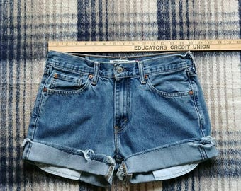 Cool old Levis cut-offs