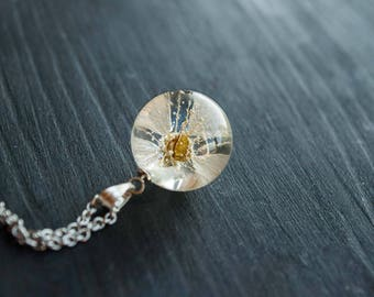 Terrarium Resin jewelry Terrarium jewelry Botanical jewelry Botanical resin necklace Nature flower jewelry Botanical resin jewelry