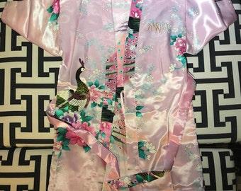 Flower girl/Junior Bridesmaid/Customized Robe/Monogram Robe