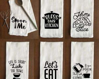 Funny Flour Sack Towels - Kitchen - Buy 3 Get 1 FREE!!