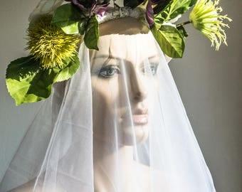 Vintage Handmade Victorian Bridal Wreath