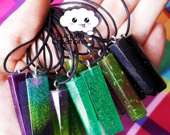 Resin Christal Necklace (Resin crystals necklace)