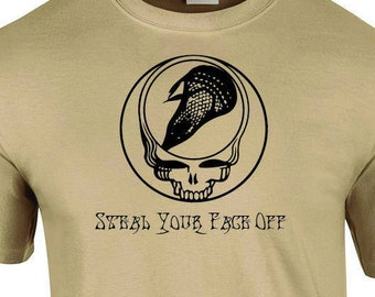Steal Your Face Off Lacrosse T Shirt