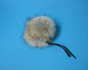 Coyote Fur Pompom (1267-CYNA)