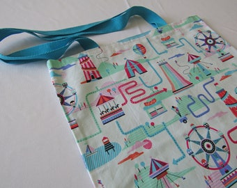 Fairground Quirky Tote Shopper Bag