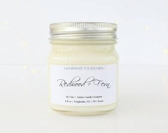 CUSTOM MASON JAR | Soy Candle | Scented Candle | Mason Jar | Candles | Custom Gift | Birthday Gift | Custom Candles | Custom Label