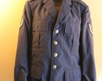 Military Jacket/ army jacket/ vintage jacket/ authentic jacket/ hipster/ hipster clothing