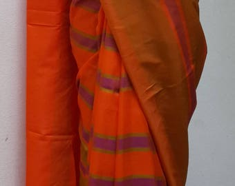 South Indian Silk saree with designer blouse: Free shipping in US